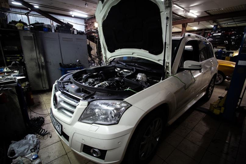Обслуживание двигателя ОМ642 от Mercedes Benz